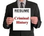 Resume Criminal History